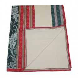 Dames quilt (stripe patchwork)